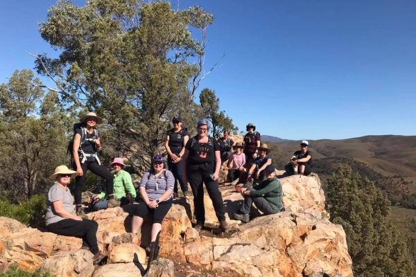 Northern-Flinders-Ranges-walking-tours-wellness-walks-womens-walking-group-south-australian-walking-lookout-rock