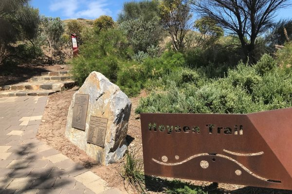 Fleurieu-Peninsula-South-Australian-walking-tours-Heysen-Trail-trailhead